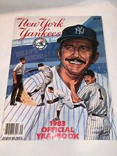 New York Yankees 1983 Official Yearbook Billy Martin INCLUDES POSTER & Postcards