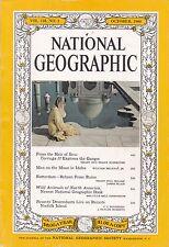 National Geographic October 1960 - India, Idaho Craters, Rotterdam, Coke advert