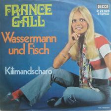 "7"" 1969! France Gall: Verseau et poissons + Mont Kilimandjaro/Comme neuf -? \"