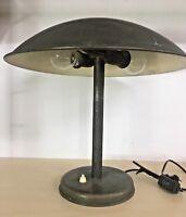 Antique Vintage Old Brass Table Lamp art deco Home Décor Double Bulb