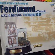Dragon Armor Diorama - Ferdinand w/Zimmerrit 1943 Horst's Pause 1:72 - 60202