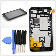 For Nokia Lumia 530 Full LCD Display Touch Screen Digitizer Assembly Frame Black