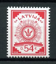 Latvia 2018 MNH First Latvian Postage Stamp 1v Set Philately Stamps-on-Stamps