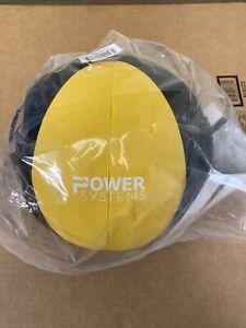 Power Systems Elite Power Exercise Medicine Ball 16 Lbs Black/Yellow