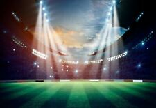 Childrens bedroom photo wallpaper Football Stadium 368x254cm Wall mural decor