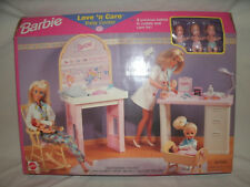 Vintage Barbie Love N' Care Baby Center Accessories Set ~ New in Box