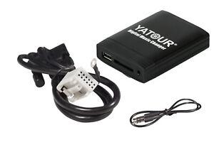 Aux Adapter Interface VW Audi Rcd 200 210 300 310 500 USB & SD Card DMC Adapter