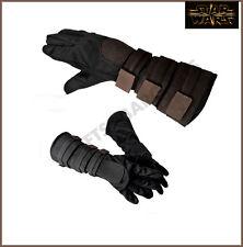 Star Wars Anakin Skywalker Gloves Child Kid Brown Jedi Knight Gauntlet Accessory