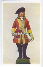 su2881 - Statuette of the King's Own Scottish Borderer, by P. Jackson - postcard