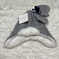NEW Starting Out Accessories Baby Boys Winter Hat And Mitten Glove Set Free Ship