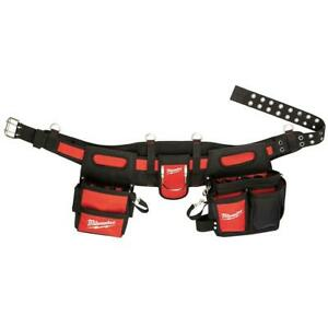 Milwaukee 48-22-8110 29-Pocket 1680D Nylon Stable Base Electricians Work Belt