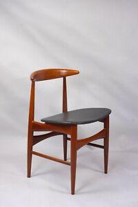 Vintage Danish teak chair Arne Hovmand Olsen for Mogens Kold 1960s retro