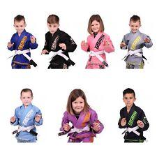Tatami BJJ Gi Meerkatsu Animal Kids Brasileño Jiu Jitsu Traje Chicos Chicas uniforme