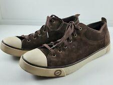 UGG Australia Evera Shoes US 11 Brown Leather Sheekskin SN1888 Euc