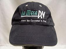 LA MESA RV - WHERE THE CUSTOMER IS KING - ADJUSTABLE STRAPBACK BALL CAP HAT!