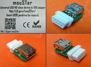 mouSTer   universeller USB-Adapter für alle Retro-Computer