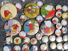 Steel Rupert Collectable Badges/Pins