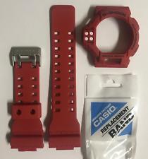 Casio Original Band GDF-100-4 GDF-100  Red Strap   & Red Bezel GDF100