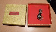 Macy's Christmas Holiday Lane Pin Brooch Santa Cat NEW IN BOX!
