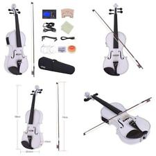 Electric Violin Full Size ammoon pleine taille 4 4 Acoustic Electric Violin FID Cadeau