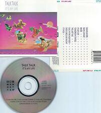 TALK TALK-IT'S MY LIFE-1984-USA-EMI-MANHATTAN REC.CDP 7 46063 2  DIDX 1178-CD-M-