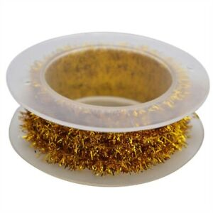 2m Metallic Tinsel Garland Ribbon Wire Supplies Colorful Home Decoration Party
