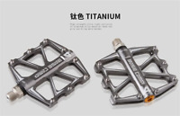 1Pair Ultralight MTB Road Bike Bicycle Pedals Aluminum Cycling Pedal 4 Bearing