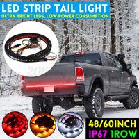 "48"" Truck Tailgate Light 144 LED Bar Brake Reverse Turn Signal Tail Strip 1"