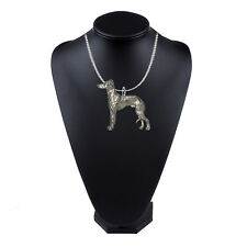 18 inch platinum chain necklace codeUs136 Italian Greyhound Pewter Emblem on a