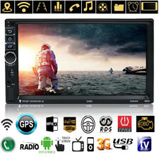 """Android 7.1 WIFI 4G 7"""" Double 2DIN Car Radio Stereo MP5 Player GPS 16G Bluetooth"""