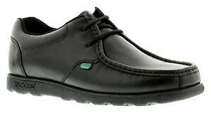 New Mens/Gents Black Kickers Fragma Lace Up Casual Shoes. UK Size