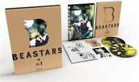 NEW BEASTARS Vol.1 First Limited Edition Blu-ray Soundtrack CD Booklet JAPAN