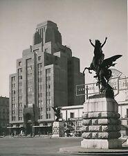 MEXIQUE c. 1950 - Auto Statues Building Mexico City - Div 11261