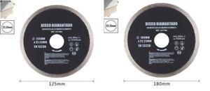 Disco diamantato corona continua 125 180 mm piastrelle ceramica porcellana 92120