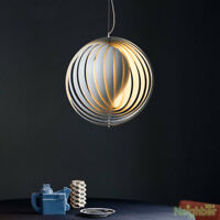 New Panton Moon Pendant Lamp LED Light Chandelier Lighting Artwork