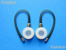 New 2 Gray Ear-hooks and Earbuds for Motorola Elite Flip Hz720 and Hx600 Boom