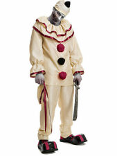 Horror Killer Clown Costume Adult Halloween Doctor Parnassus Twisty Medium 40-42