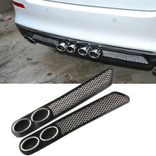 1 Pair Car SUV Air Flow Grille Fender Mesh Rear Side Vents Vehicle Decor Sticker