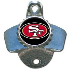 San Francisco 49ers NFL Football Wall Mount Metal Pub Bar Bottle Opener - New