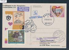 09626) Lauda Olympiade So-LP Wien - Sydney 15.9.2000, GA Kroatien Herz heart