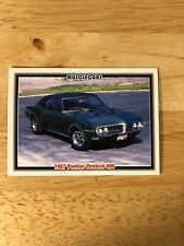 1992 Muscle Cars #89 1967 Pontiac Firebird 400