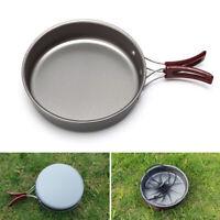 Non-stick Picnic Portable Hiking Outdoor Camping Aluminum Alloy Frying Pan