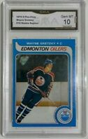 1979-80 O-Pee-Chee WAYNE GRETZKY Rookie RE- PRODUCTION Oilers GMA 10