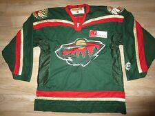 Minnesota Wild NHL Ice Hockey Koho Premier Jersey LG L mens