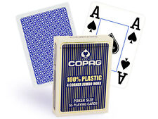 COPAG 100%25 PLASTIC POKER PLAYING CARDS DECK DOUBLE JUMBO STANDARD INDEX ORIGINAL