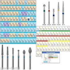 50pcs *IT*dental Diamond Burs Flat-end Medium FG 1.6mm for High speed Handpiece