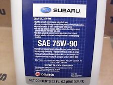Genuine OEM Subaru 75W-90 Gear Oil - 1 Quart (Bottle) (SOA427V1700)