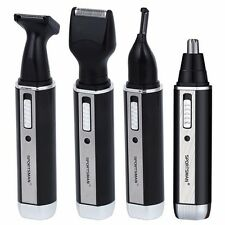 Rechargable Beard Face Eyebrows Ear Nose Trimmer Electric Shaver 4 In 1