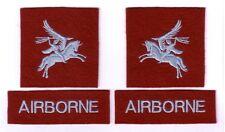 """WWII - BRITISH AIRBORNE """"La Paire"""" (Reproduction)"""