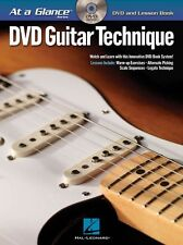 At A Glance Guitar Technique Learn to Play Scales Legato Music Book & DVD